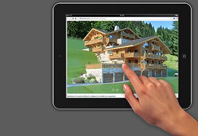 Demo tablette, 3D Temps Réel et 3D Pré-calculée